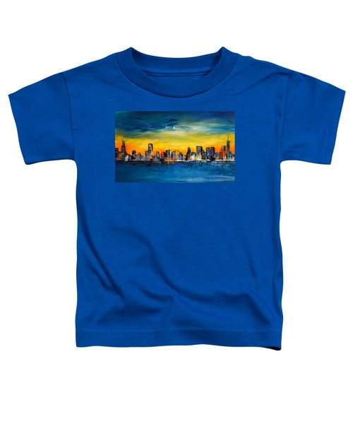 Chicago Skyline Toddler T-Shirt