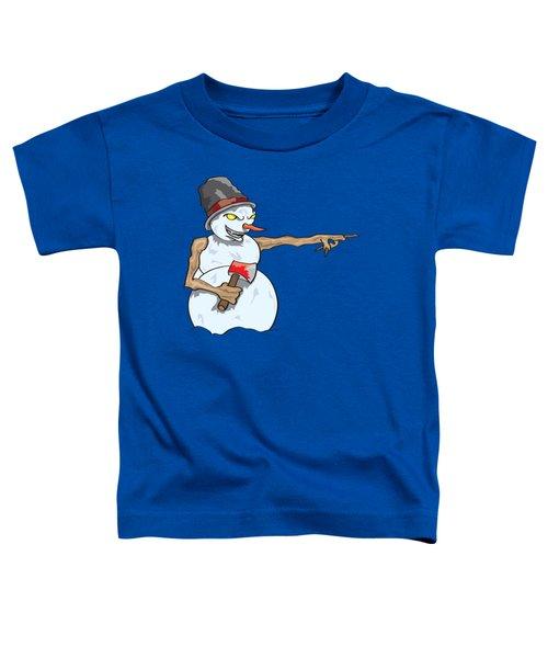 Christmas Horror Nightmares Toddler T-Shirt