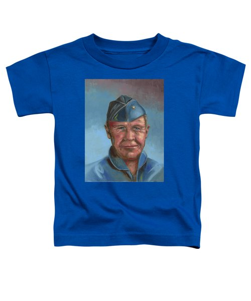 Chuck Yeager Toddler T-Shirt