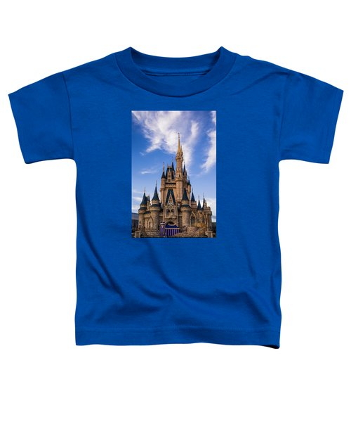 Cinderella Castle Toddler T-Shirt