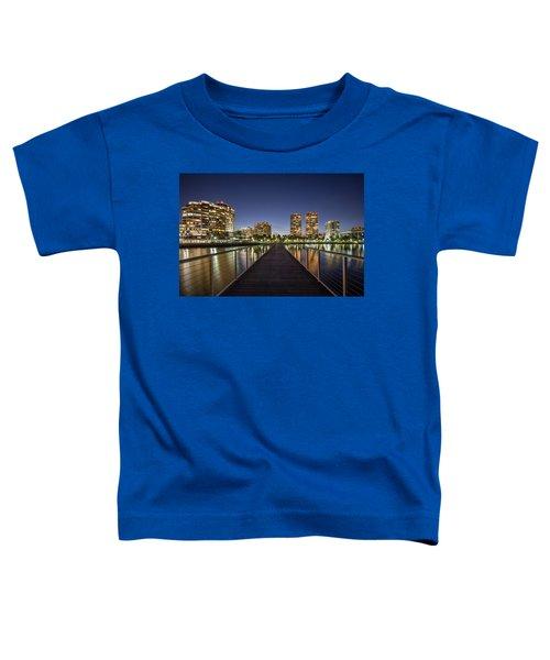 City Skyline Toddler T-Shirt