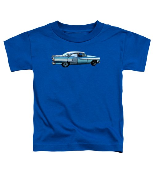 Classic Blue Motor Art Toddler T-Shirt