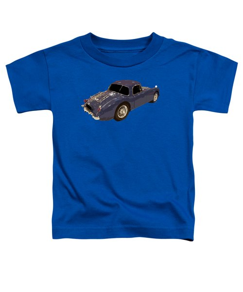 Classic Sports Blue Rear Toddler T-Shirt