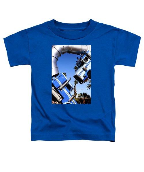 Closeup On Big Rig Jig Toddler T-Shirt
