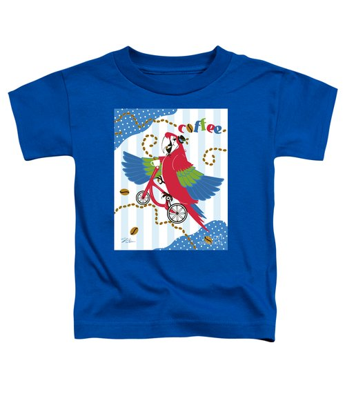 Coffee Parrot Toddler T-Shirt