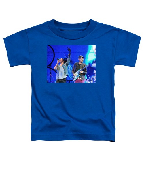 Coldplay6 Toddler T-Shirt by Rafa Rivas