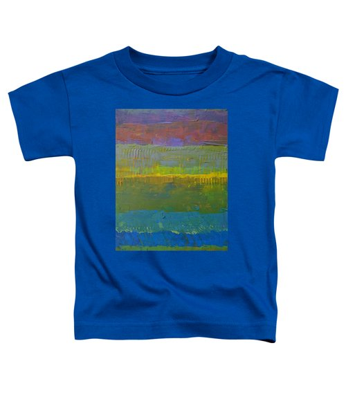 Color Collage Five Toddler T-Shirt by Michelle Calkins