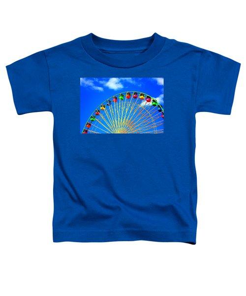 Colorful Ferris Wheel Toddler T-Shirt