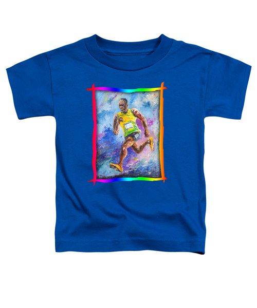 Colors Of Speed Toddler T-Shirt