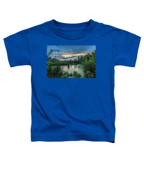 Columbia Marsh Sunset Toddler T-Shirt