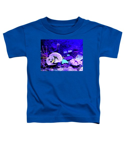 Toddler T-Shirt featuring the digital art Coral Art by Francesca Mackenney