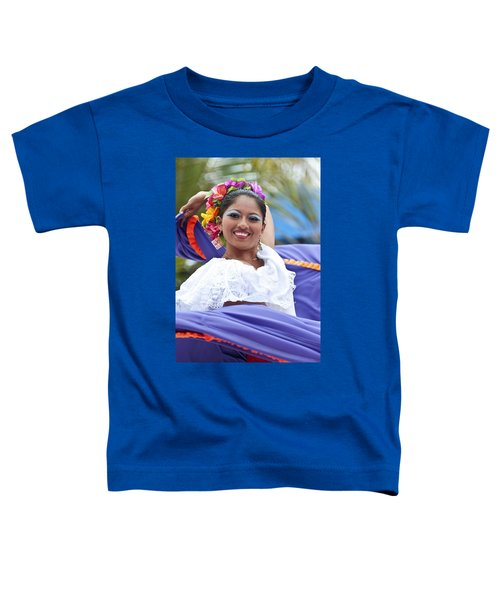 Costa Maya Dancer Toddler T-Shirt