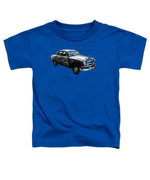 Cuba Taxi Art Toddler T-Shirt