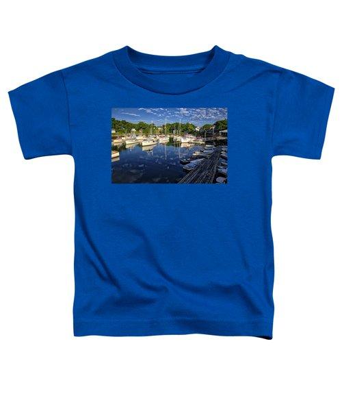 Dawn At Perkins Cove - Maine Toddler T-Shirt