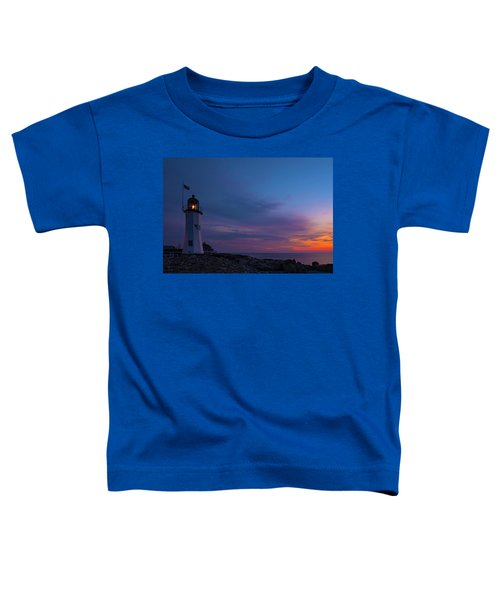 Dawn At Scituate Light Toddler T-Shirt