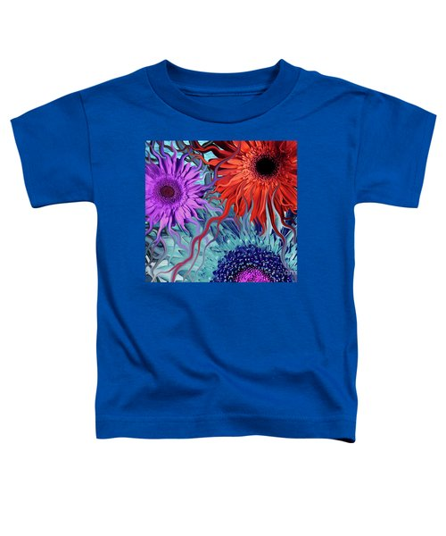 Deep Water Daisy Dance Toddler T-Shirt
