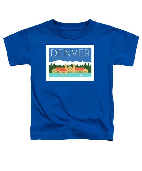Denver City Park/blue Toddler T-Shirt