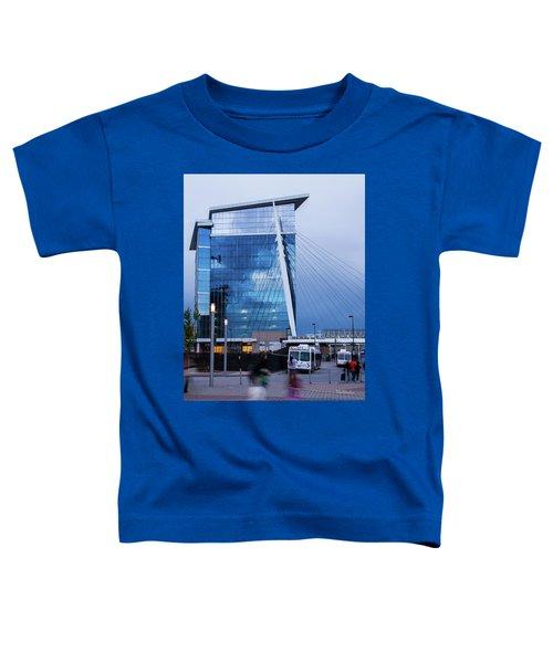 Denver Union Station And Milennium Bridge Toddler T-Shirt