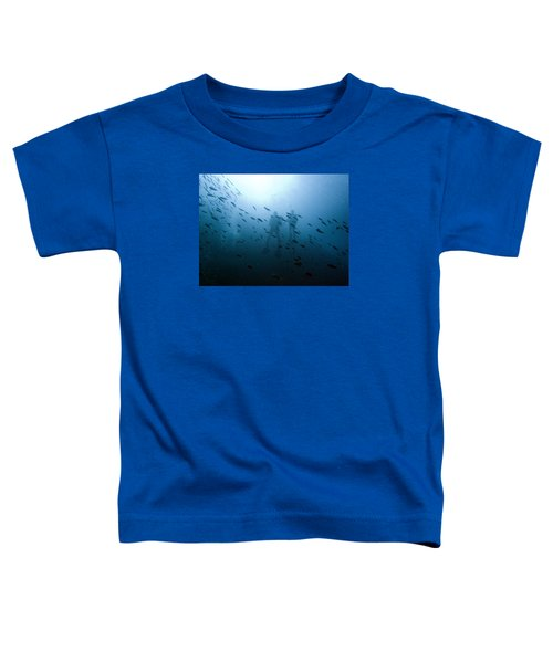 Diving With Fishes Toddler T-Shirt