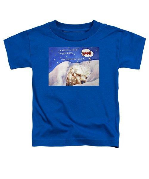 Doggie Dreams Toddler T-Shirt