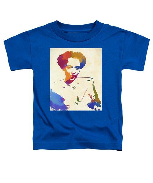 Dorothy Dandridge Watercolor Toddler T-Shirt