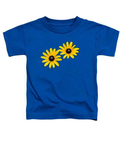 Toddler T-Shirt featuring the photograph Double Daisies by Christina Rollo
