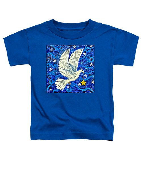 Dove With Star Toddler T-Shirt