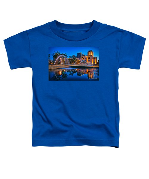 Downtown San Diego Waterfront Park Toddler T-Shirt