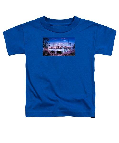 Drain_sunset.2 Toddler T-Shirt