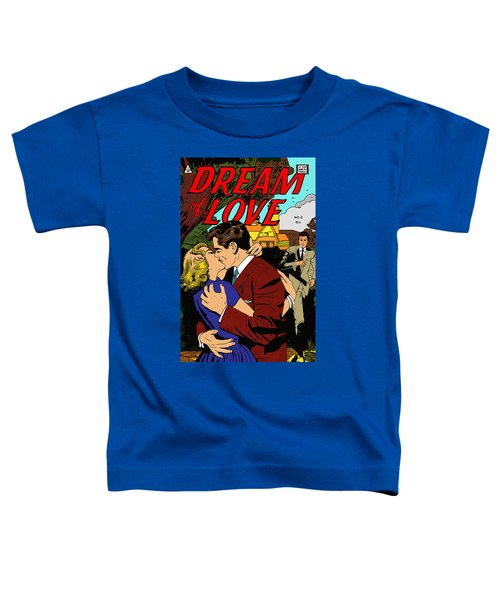 Toddler T-Shirt featuring the digital art Dream Of Love 2 Comic Book by Joy McKenzie