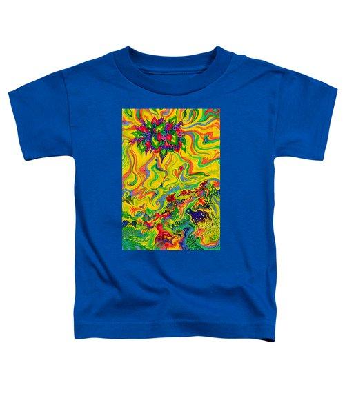 Dream-scaped Swamp Garden 2 Toddler T-Shirt
