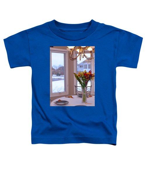 Dusk Dining View Toddler T-Shirt
