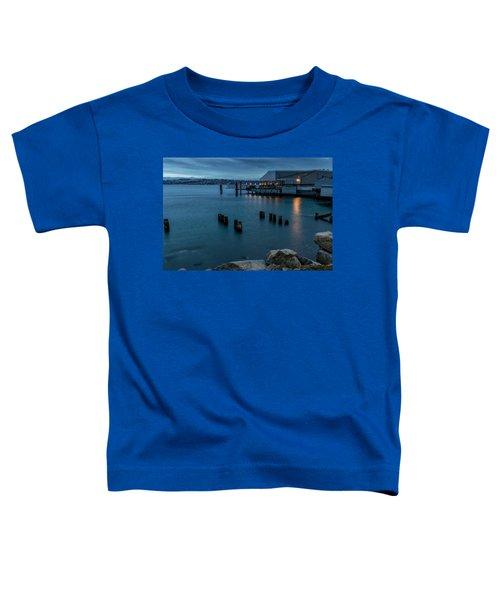 Dusk Falls Over The Lobster Shop Toddler T-Shirt