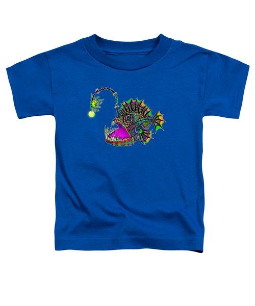 Electric Angler Fish Toddler T-Shirt