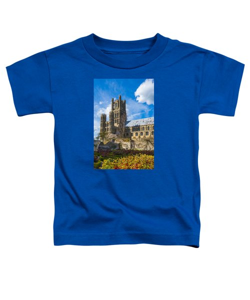 Ely Cathedral And Garden Toddler T-Shirt