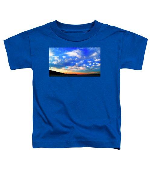 Estuary Skyscape Toddler T-Shirt