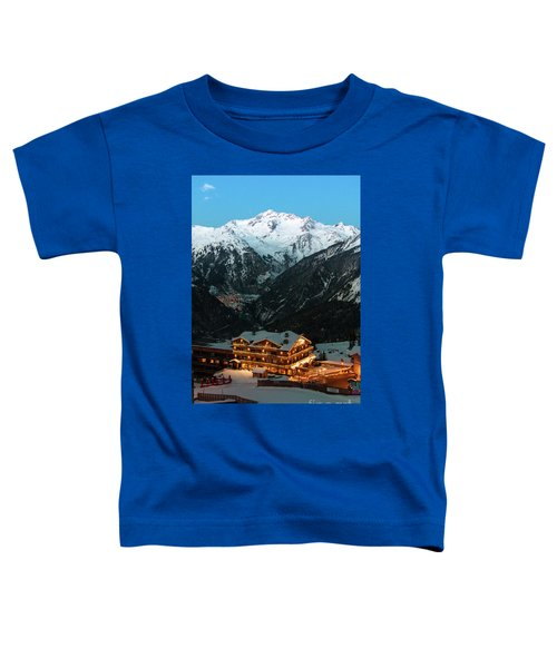 Evening Comes In Courchevel Toddler T-Shirt
