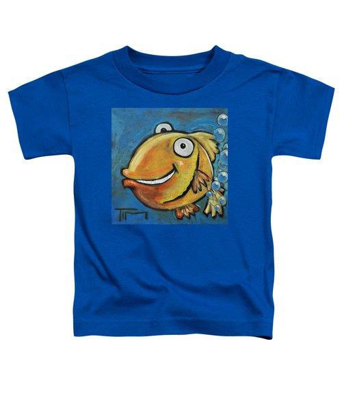 Farting Fish Toddler T-Shirt