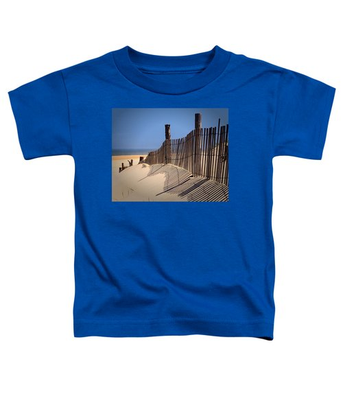 Fenwick Dune Fence And Shadows Toddler T-Shirt