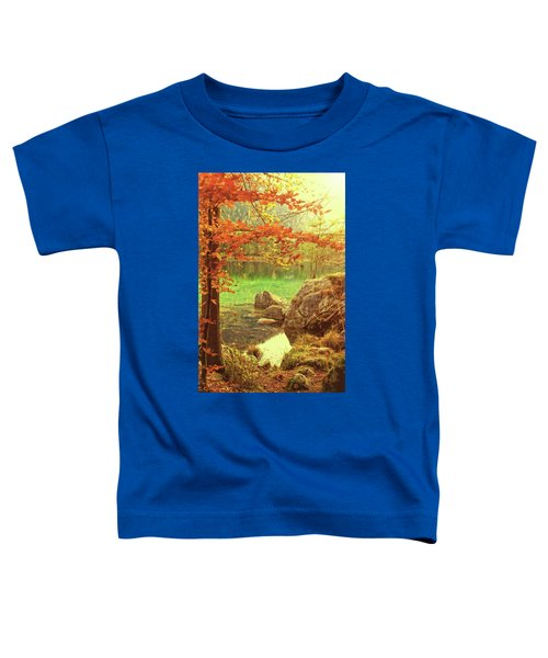 Fire And Water Toddler T-Shirt
