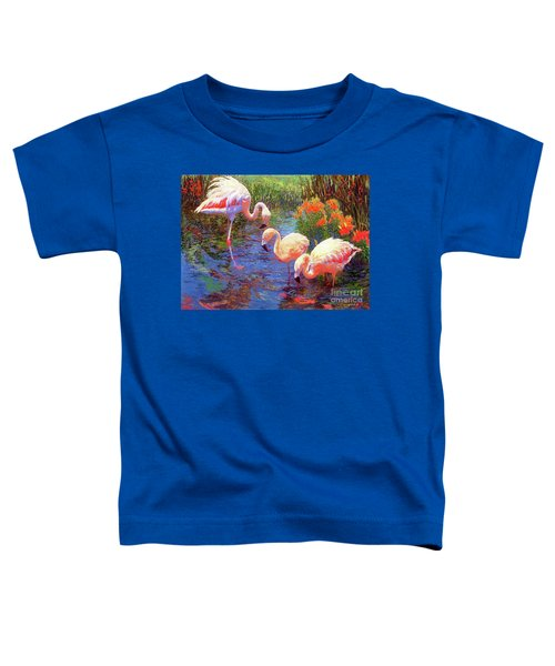 Flamingo Tangerine Dream Toddler T-Shirt