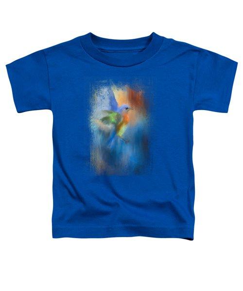 Flight Of Fancy Toddler T-Shirt by Jai Johnson