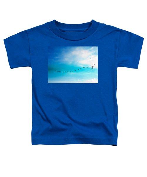 Flying Away Toddler T-Shirt