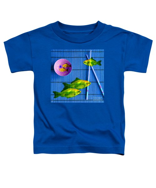 Flying Fish And The Pink Moon Toddler T-Shirt
