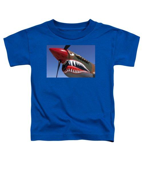 Flying Tiger Plane Toddler T-Shirt