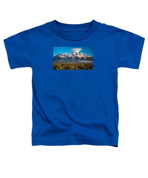 Fog At The Tetons Toddler T-Shirt