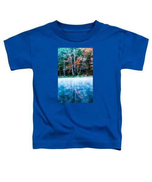 Fog On The Lake Toddler T-Shirt