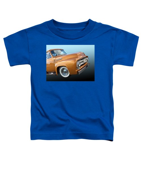 Ford F100 1955 In Bronze Toddler T-Shirt