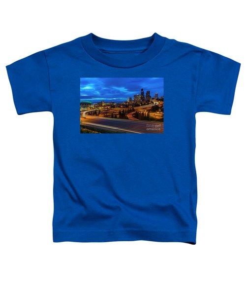 Freeway 5 North To Seattle Toddler T-Shirt