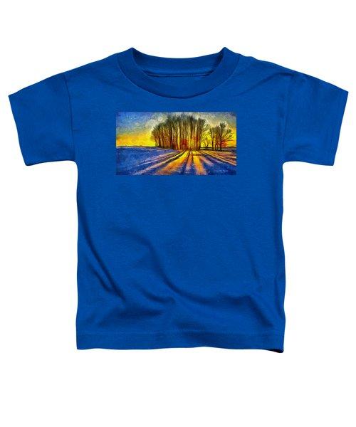 Frozen Sunset - Da Toddler T-Shirt